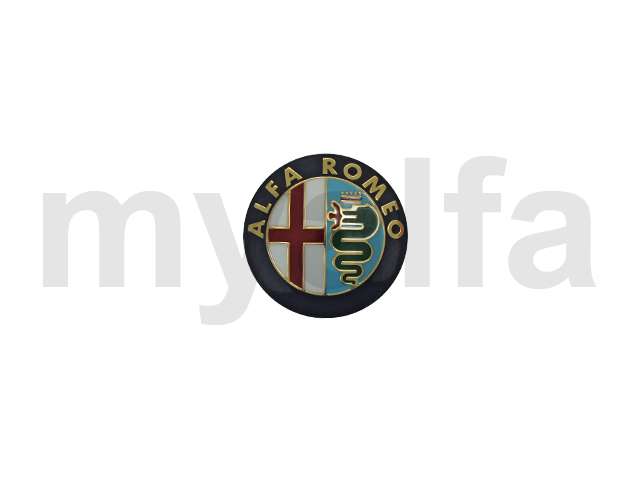 Alfa Romeo emblem w / steering wheel center - (+) 1986 for 105/115, Steering wheels, Steering hubs