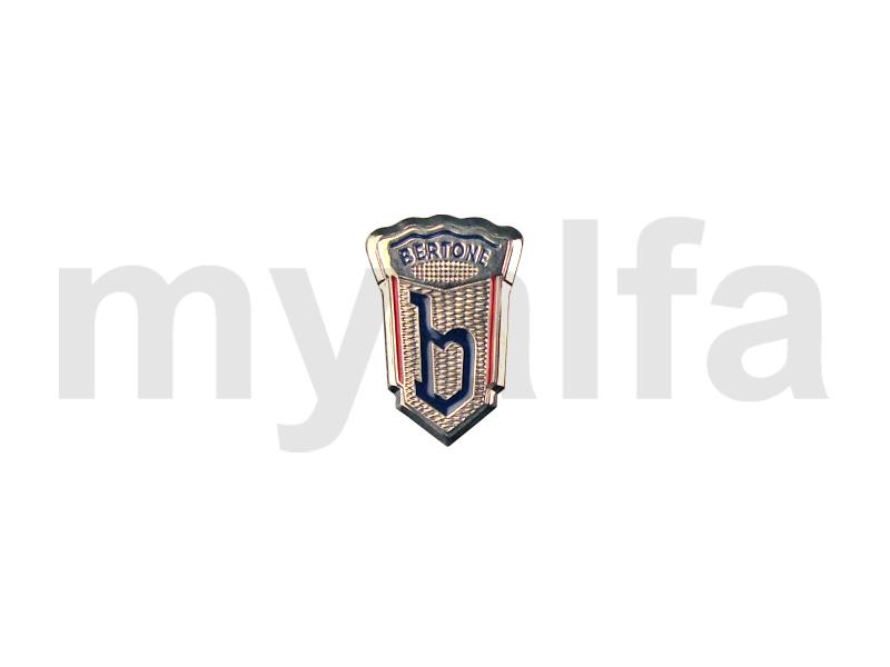 Bertone emblem silver for 750/101, 105/115, Body parts, Emblems, badges and scripts, Scripts