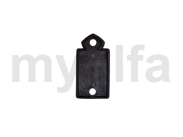 protective rubber lateralPininfarina with gasket crown for 105/115, Spider, Body parts, Emblems, badges and scripts, Scripts