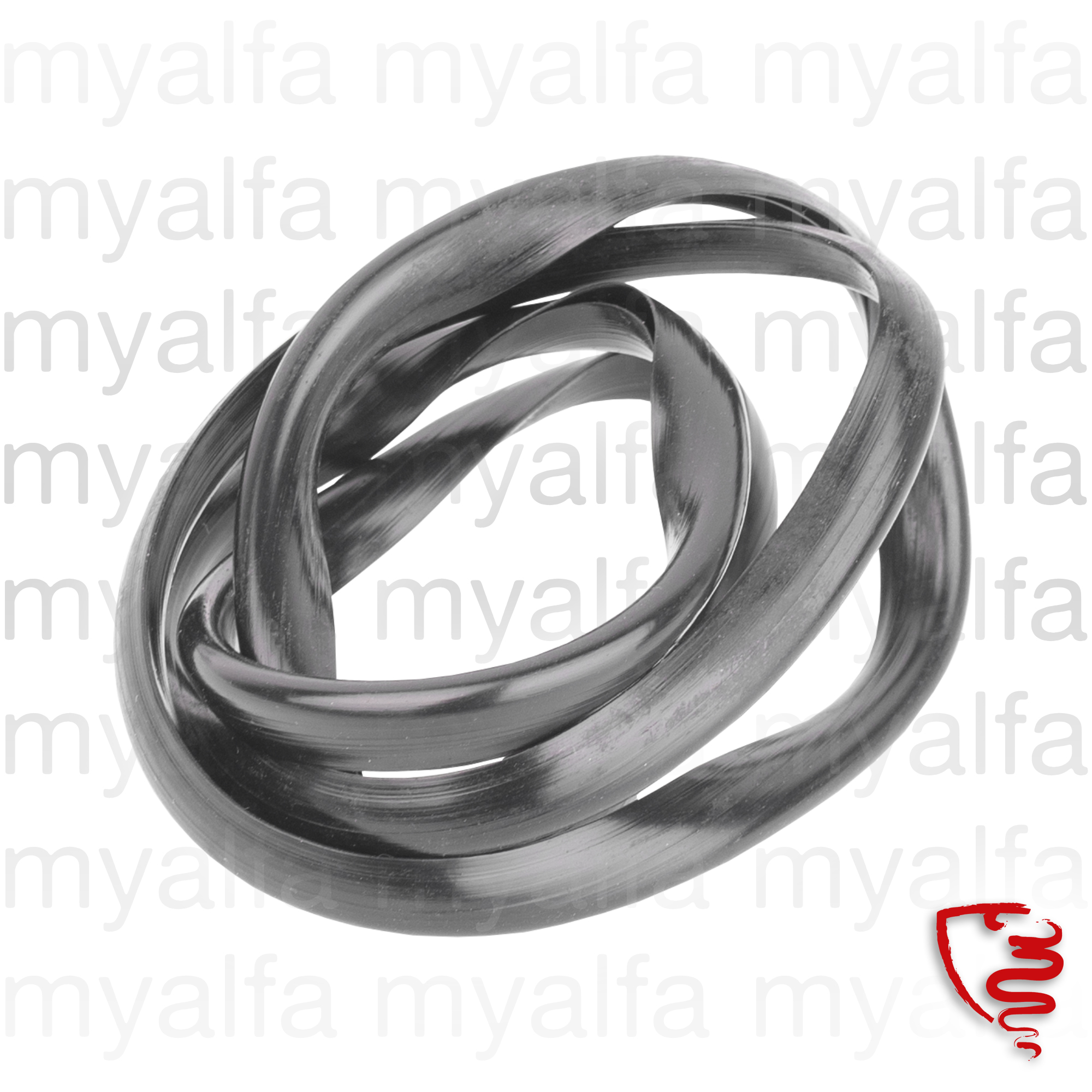 Rubber for central grid for 105/115, Spider, Body parts, Chrome Parts, Front
