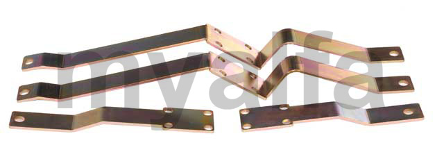 Conversion kit bumpers supports US- EU Spider 1970-82 for 105/115, Spider, Body parts, Chrome Parts, Front