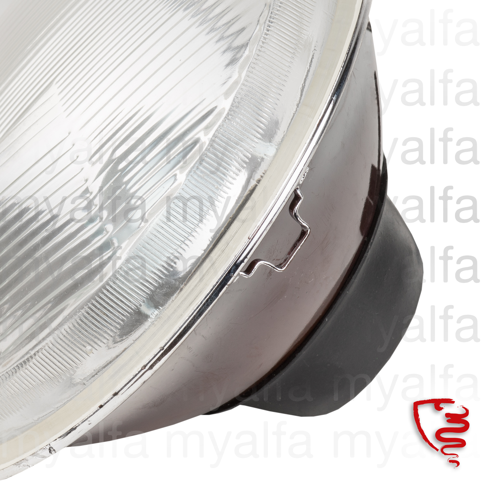 Lighthouse h4 7 'LHD for GT bertone / Giulia Spider and 62/67 for 105/115, Body parts, Lighting, Head lamps
