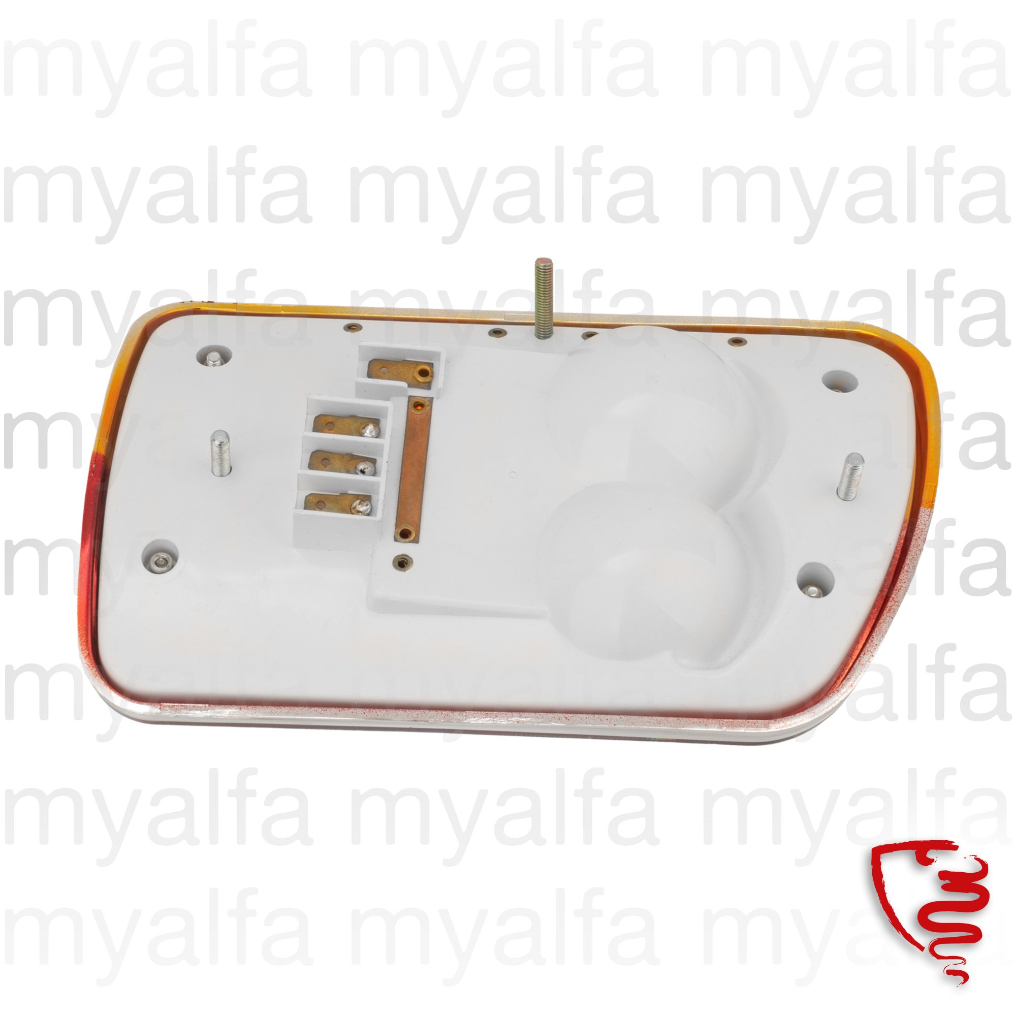 Full taillight behind esº 1300 - 1750 series2 - plastic base for 105/115, Coupe, Body parts, Lighting, Tail lights