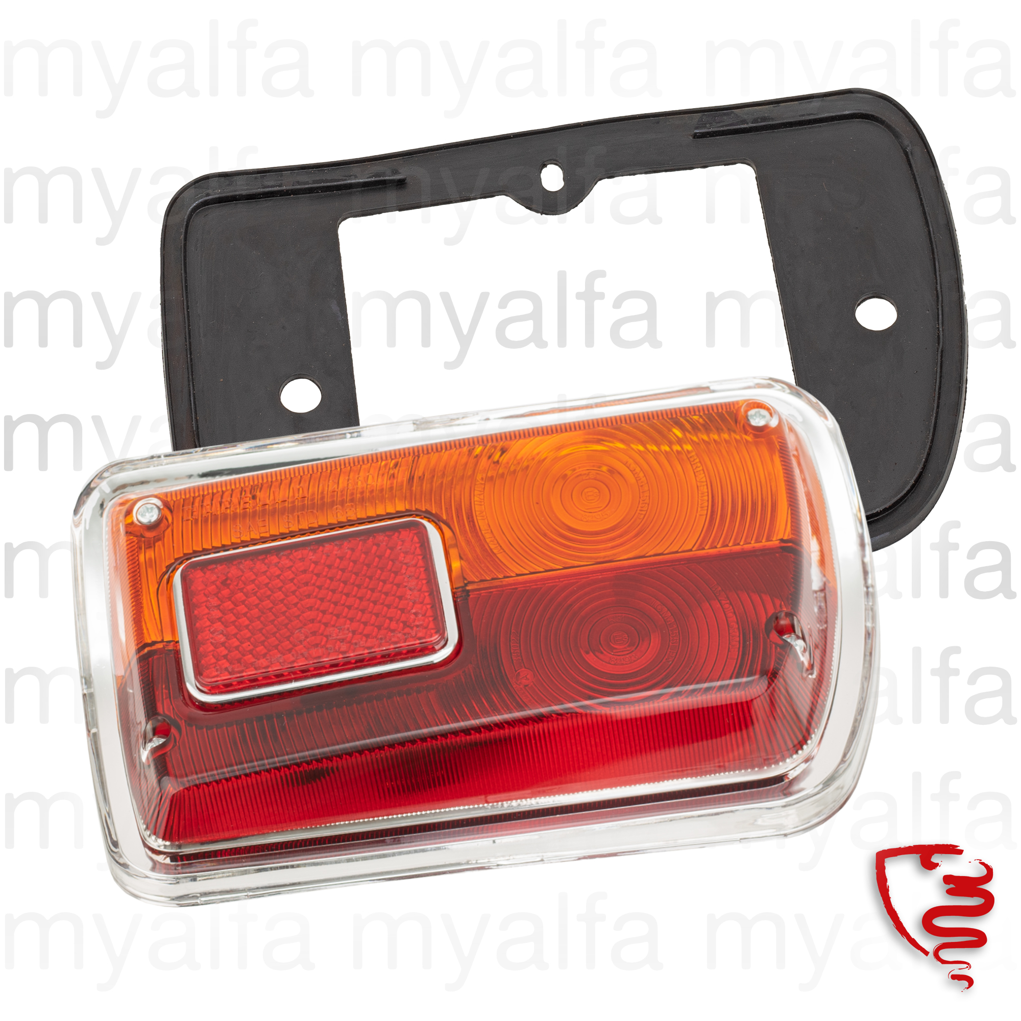 Farolim full back dt 1300 - 1750 series2 - plastic base for 105/115, Coupe, Body parts, Lighting, Tail lights