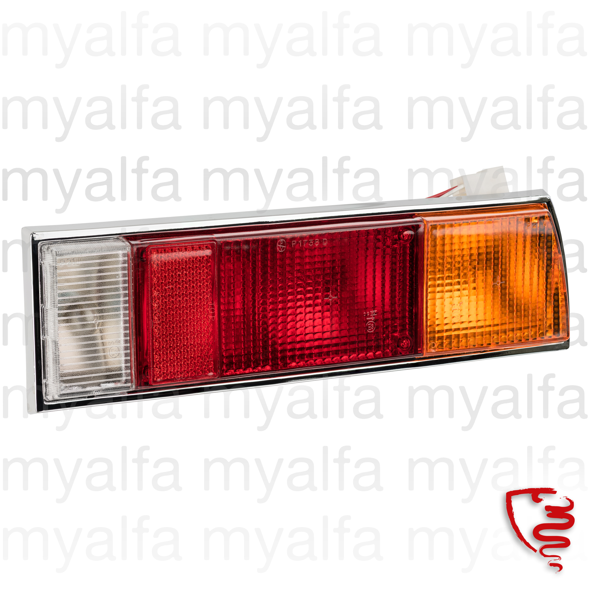 Farolim behind Spider 70-82 dt reproduction for 105/115, Spider, Body parts, Lighting, Tail lights