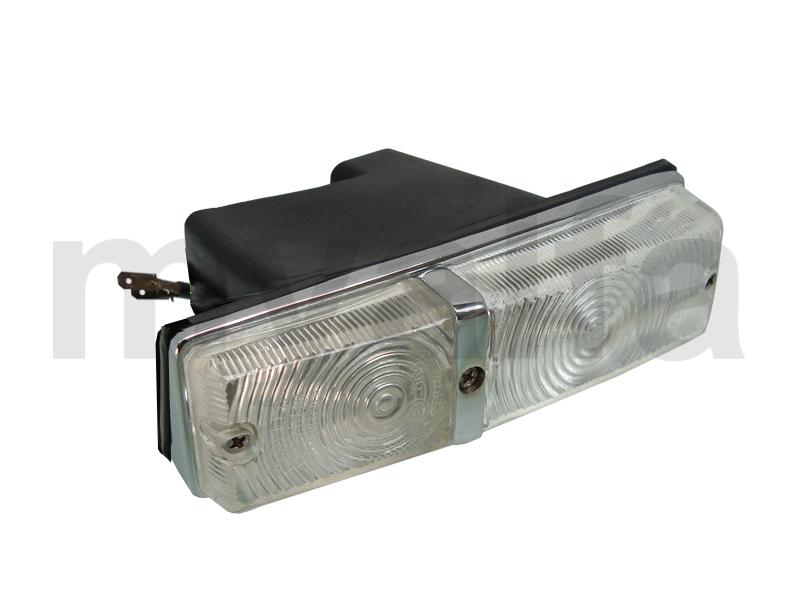 Beacon flashes and minimum frt Esqº White / White Giulia for 105/115, Giulia, Body parts, Lighting, Indicators