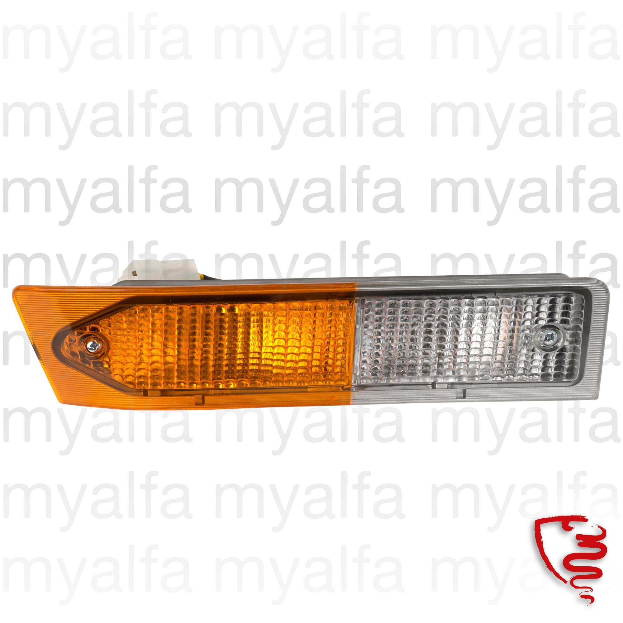 Beacon flashes and minimum frt. drt. Alfetta GTV 1st Series for 116/119, Body parts, Lighting, Indicators
