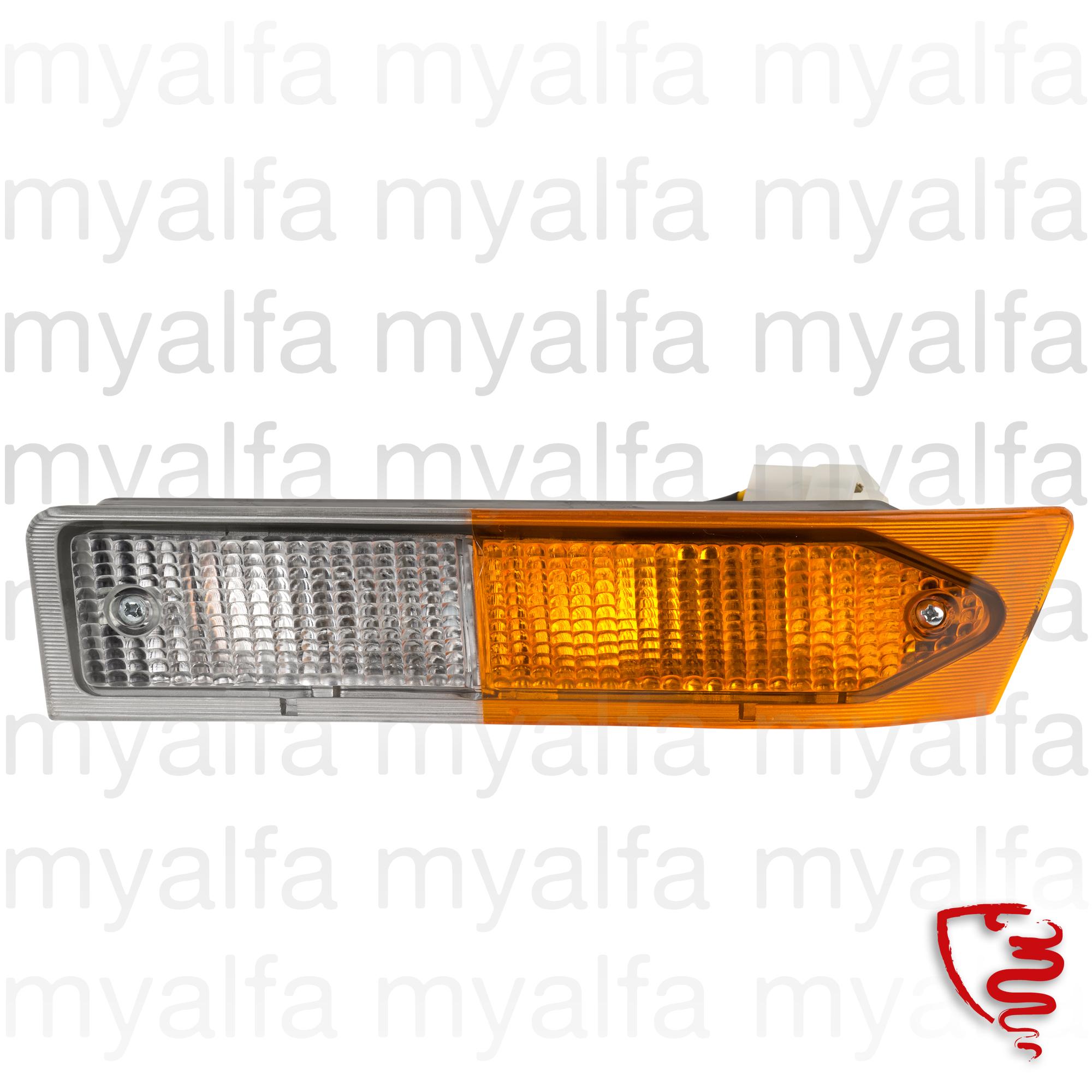 Beacon flashes and minimum frt. esq. Alfetta GTV 1st Series for 116/119, Body parts, Lighting, Indicators