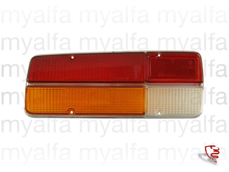Glass back left taillight Sedan 2000 for 105/115, Berlina, Body parts, Lighting, Tail lights
