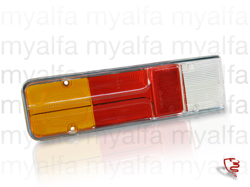 Glass taillight back Giulia for 105/115, Giulia, Body parts, Lighting, Tail lights