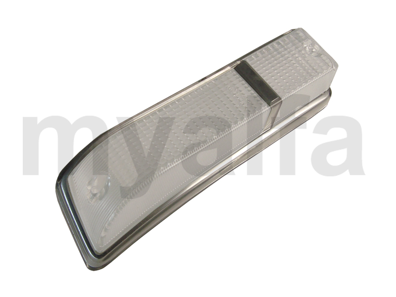 Taillight lens GT Bertone 1970-77 white / white front dt for 105/115, Coupe, Body parts, Lighting, Indicators