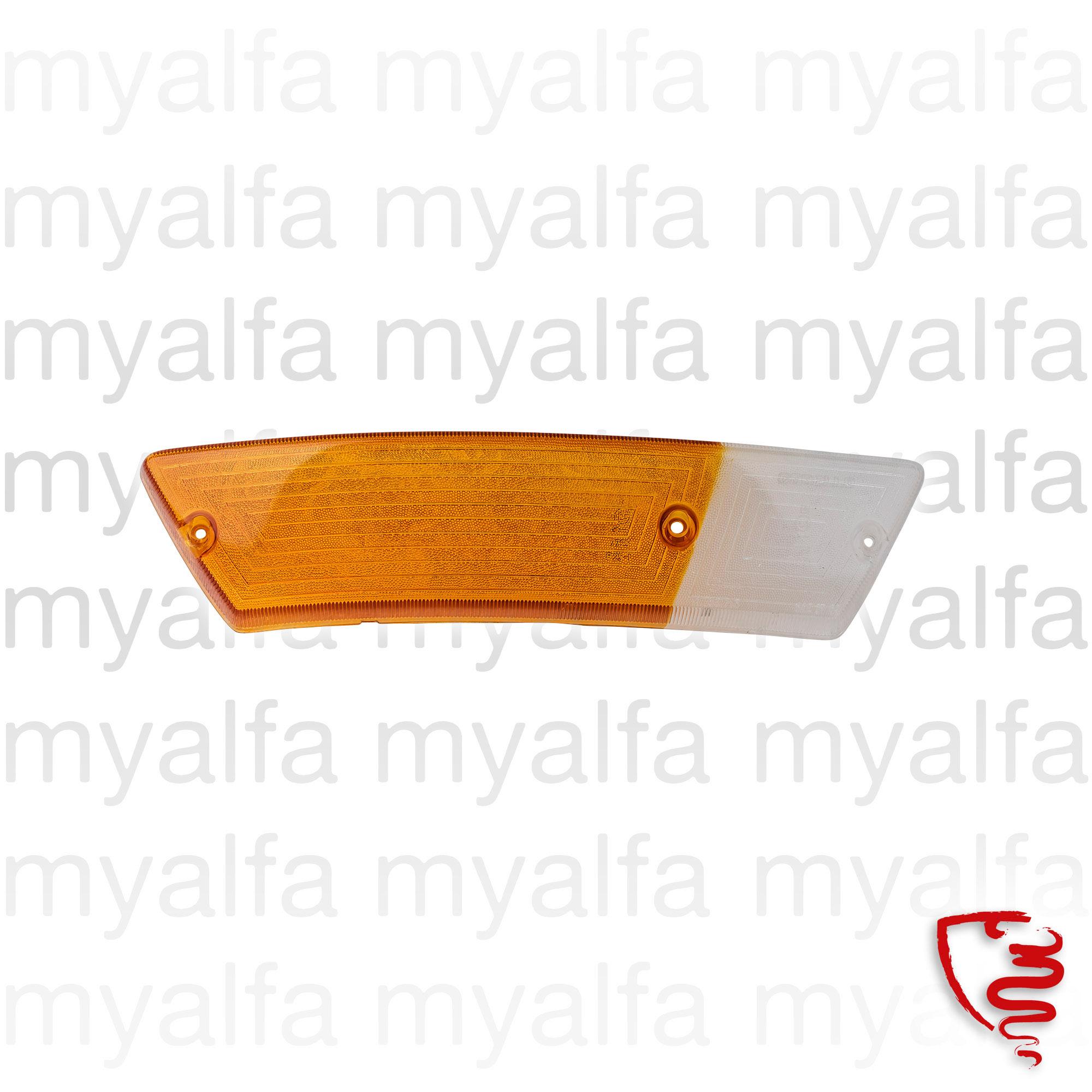 Lens beacon Spider70 / 82 orange / white front dt for 105/115, Spider, Body parts, Lighting, Indicators