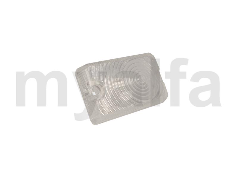 Lens flashes w / divider Carello Giulia white 1962-73 for 105/115, Giulia, Body parts, Lighting, Indicators