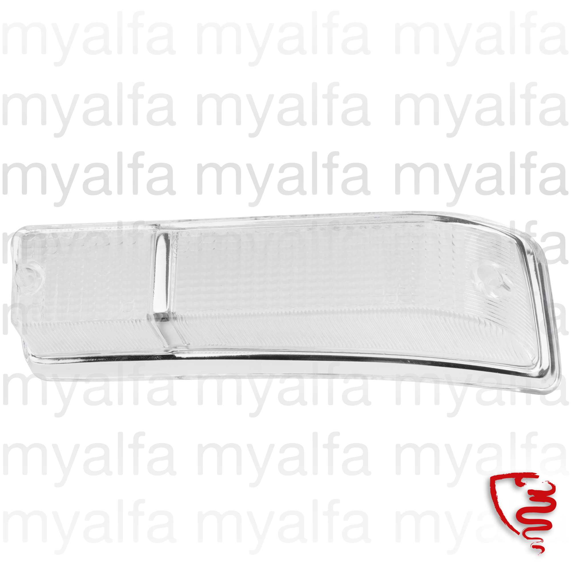 Taillight lens front GT Bertone left 2nd series. for 105/115, Coupe, Body parts, Lighting, Indicators