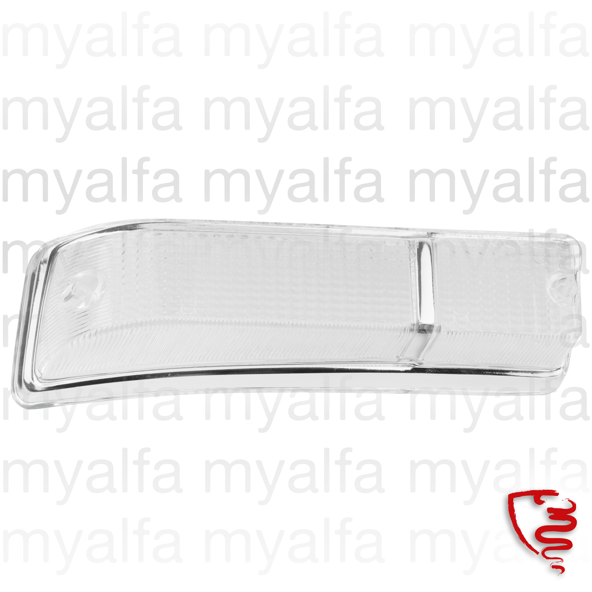 Taillight lens front GT Bertone 2nd drt series. for 105/115, Coupe, Body parts, Lighting, Indicators