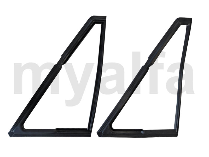 Set rubbers d / triangle window Spider for 105/115, Spider, Body parts, Rubber parts, Door grommets/felt/seals