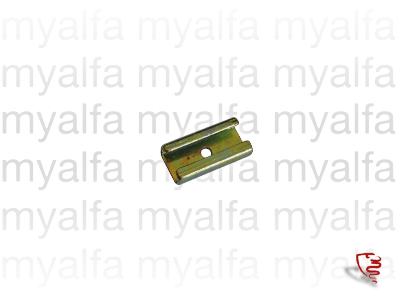 Metal clip for rubber hinges for 105/115, Coupe, Body parts, Rubber parts, Side Windows seals