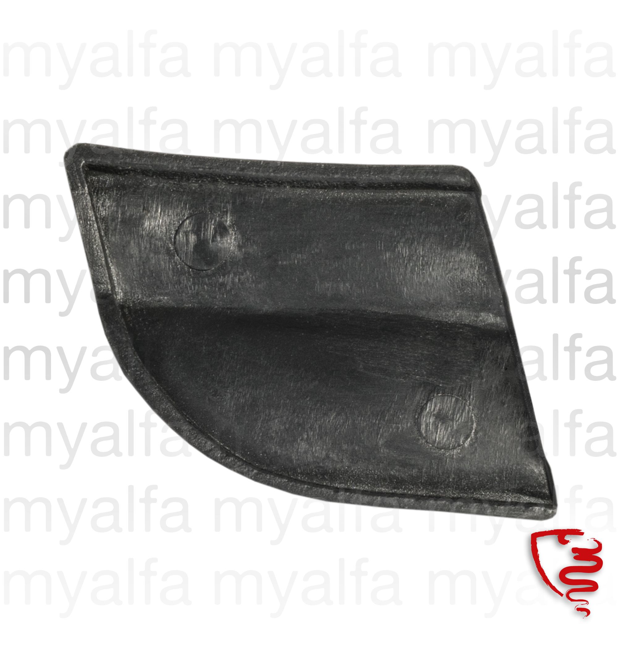 Rubber dt lower crimp. Spider for 105/115, Spider, Body parts, Rubber parts, Windscreen Front/Back
