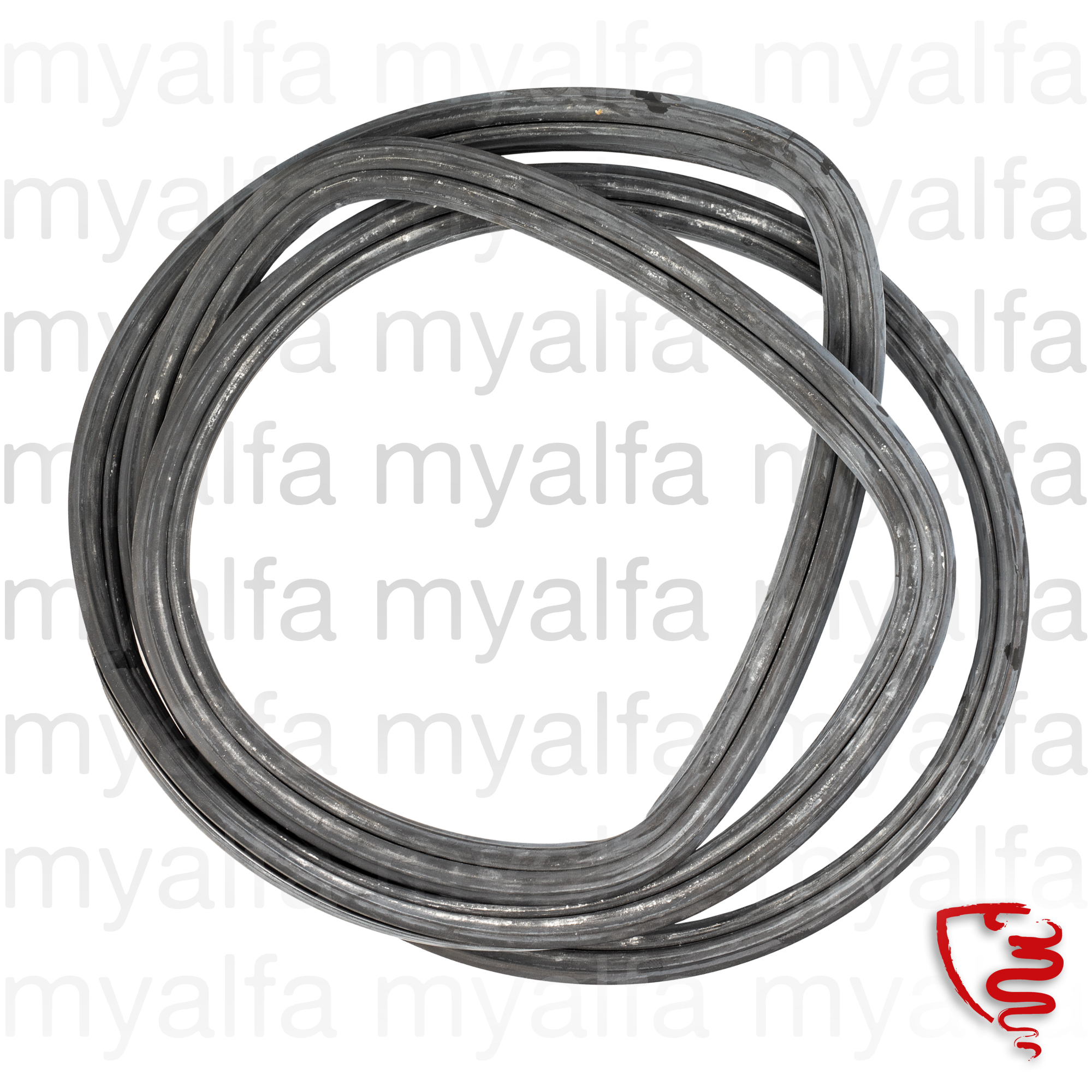front window rubber Giulietta SS for 750/101, Giulietta SS, Body parts, Rubber parts, Windscreen Front/Back
