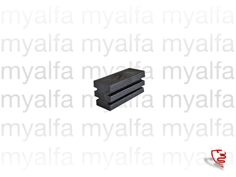 GT rubber hinges for the rear side window for 105/115, Coupe, Body parts, Rubber parts, Side Windows seals
