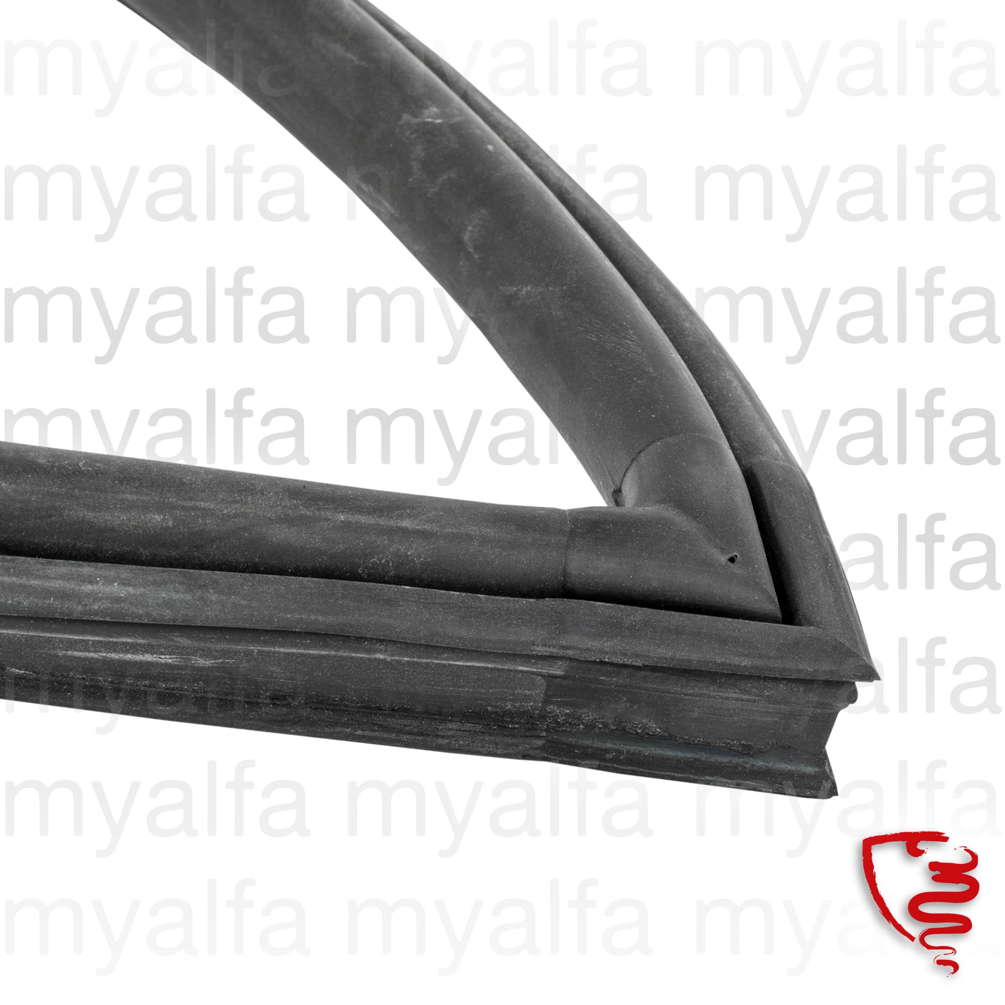 Rubber dta door. GT for 105/115, Coupe, Body parts, Rubber parts, Door seals
