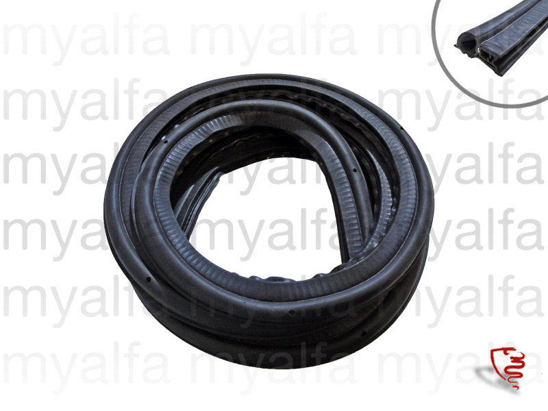 mail Rubber Spider 1970-93 for 105/115, Spider, Body parts, Rubber parts, Body Seals/Grommets