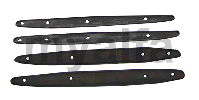 Rubber protection hinges bag and hood spider 750 for 750/101, Spider, Body parts, Rubber parts, Body Seals/Grommets