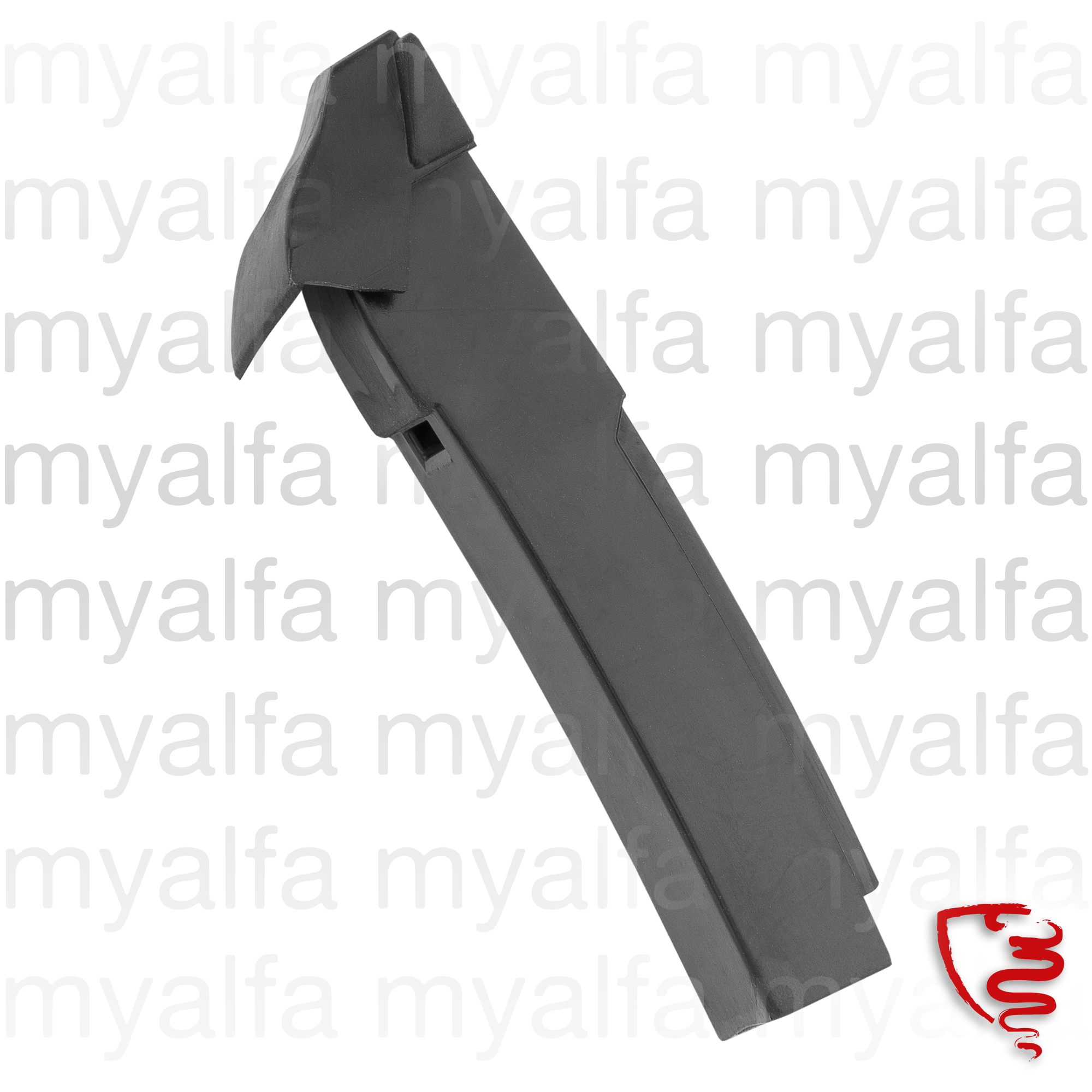 glass trough sealing door GT - esq. for 105/115, Coupe, Body parts, Rubber parts, Door grommets/felt/seals
