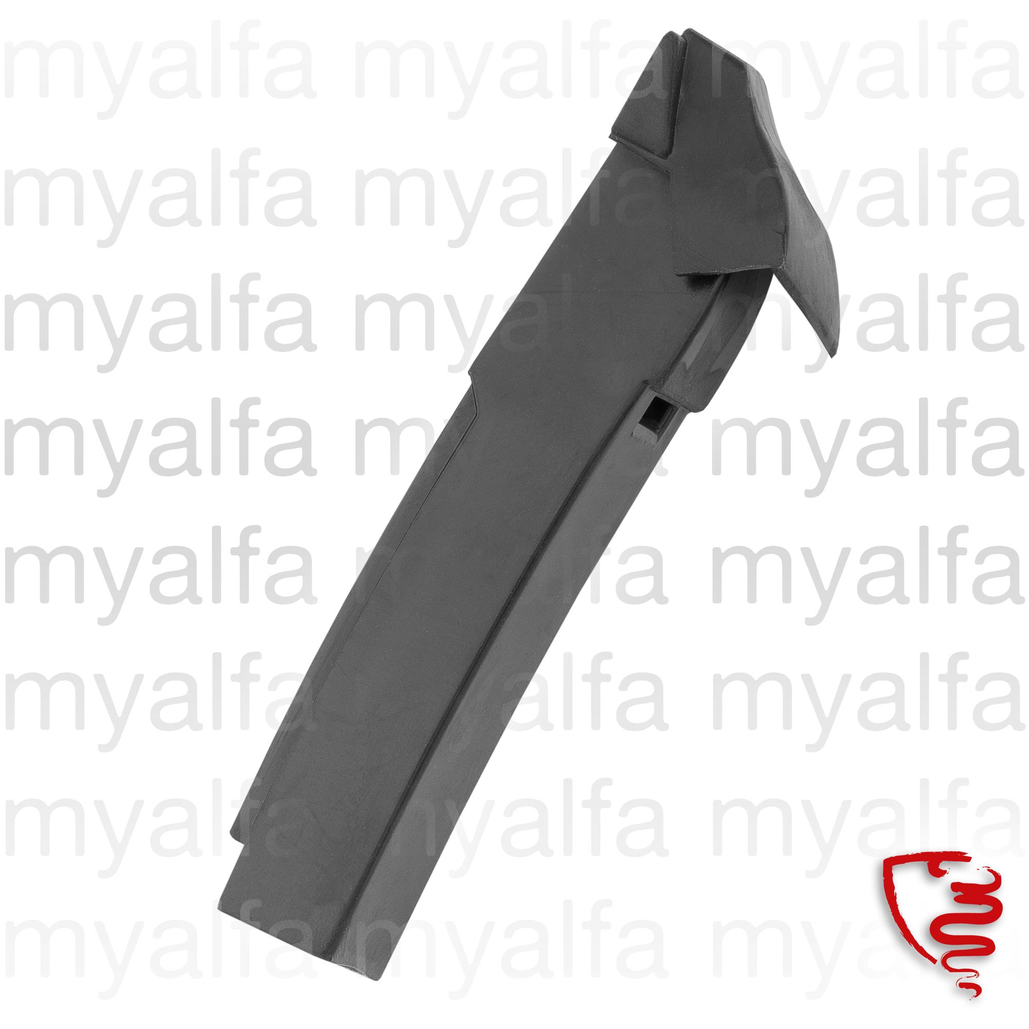 glass trough sealing door GT - disc. for 105/115, Coupe, Body parts, Rubber parts, Door grommets/felt/seals