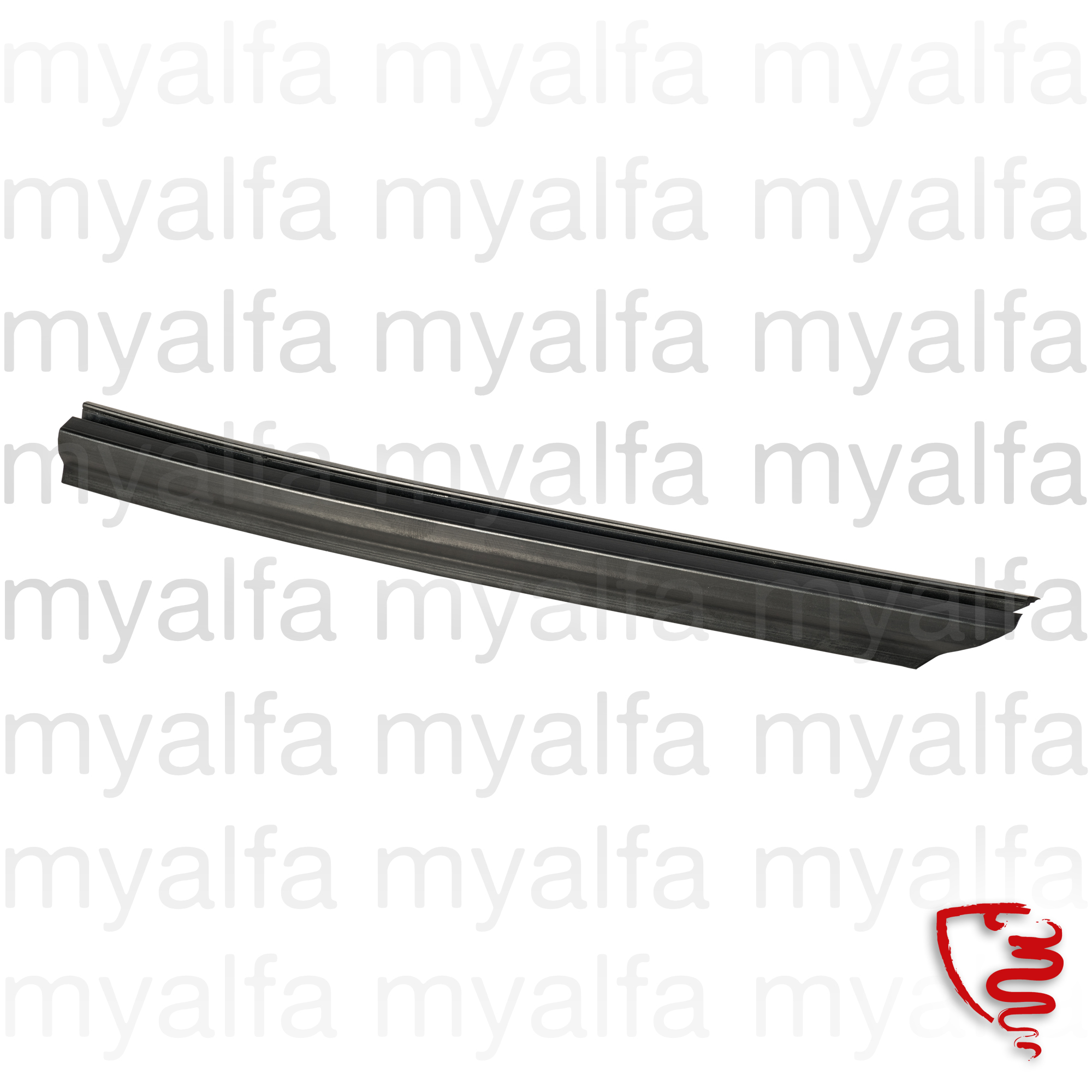 Board rubber clean grill windscreen Spider - Dta. for 105/115, Spider, Body parts, Rubber parts, Body Seals/Grommets