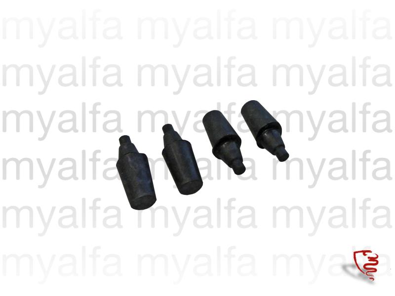 Set stops rubbers suitcase GT Bertone for 105/115, Coupe, Body parts, Rubber parts, Body Seals/Grommets