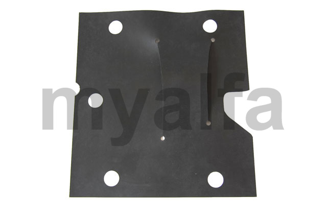 Rubber protective plate of the bracket for 750/101, Body parts, Rubber parts, Body Seals/Grommets