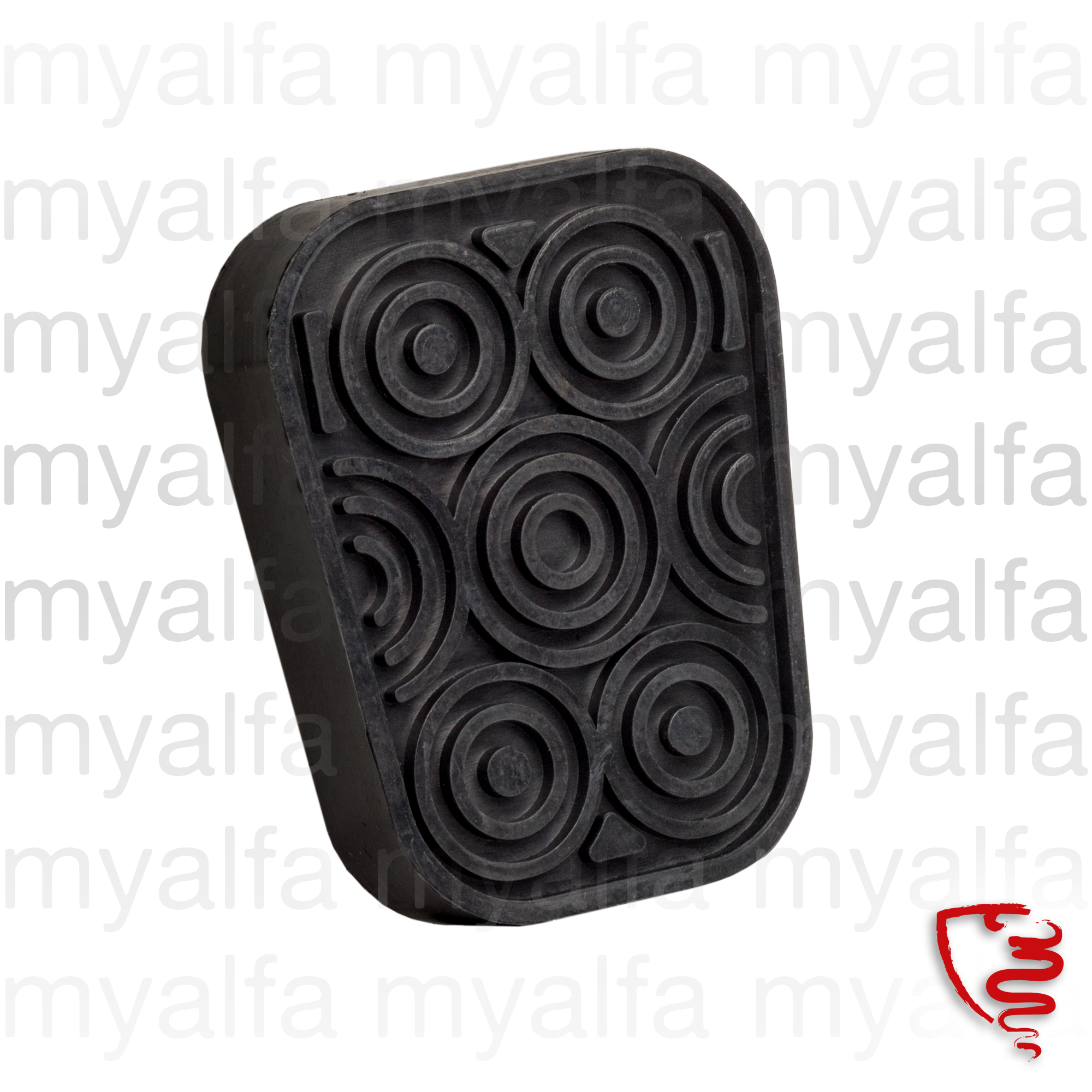 Pedal rubber clutch and brake for 105/115, Pedals
