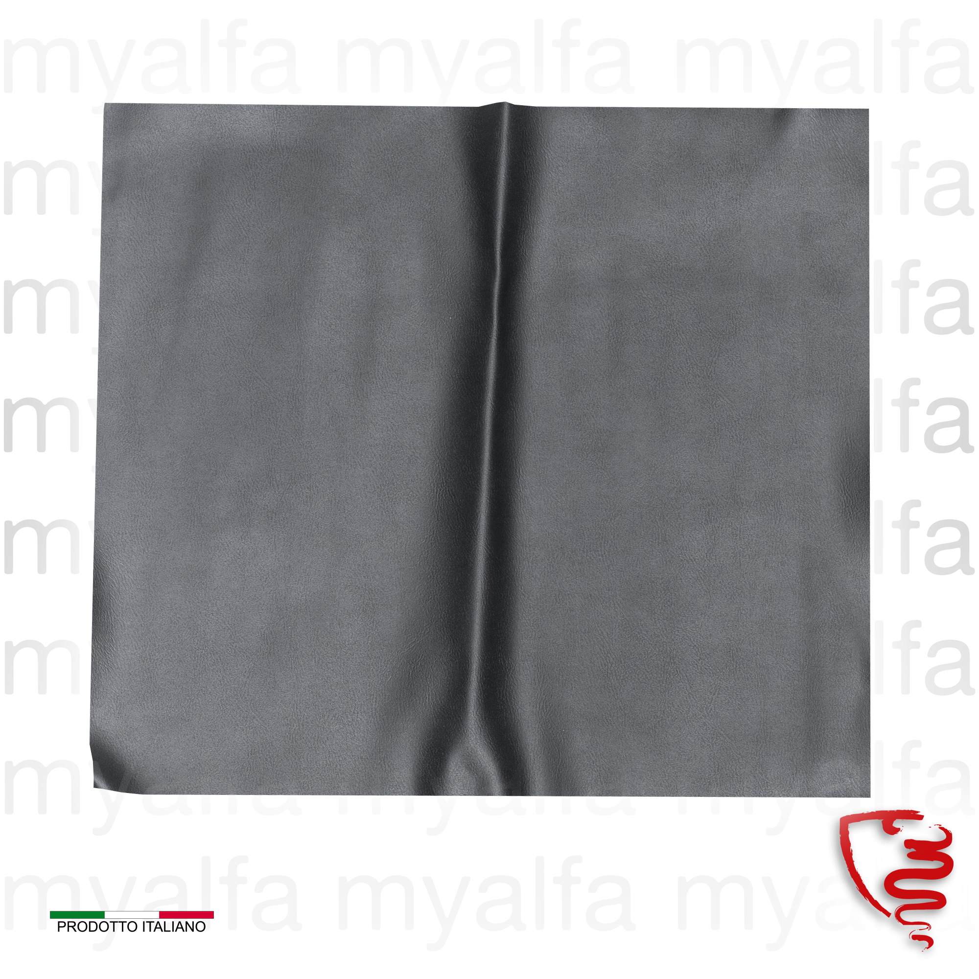 Conj. Spider 1969-77 covers bank - Black for 105/115, Spider, Interior, Seats, Seat covers