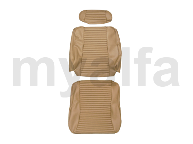 Cover front seat GTV 2000 - beige Skay 575 for 105/115, Coupe, 2000, Interior, Seats, Seat covers
