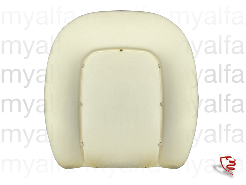 backrest foam Spider 1970-86 for 105/115, Spider, Interior, Seats, Seat foams