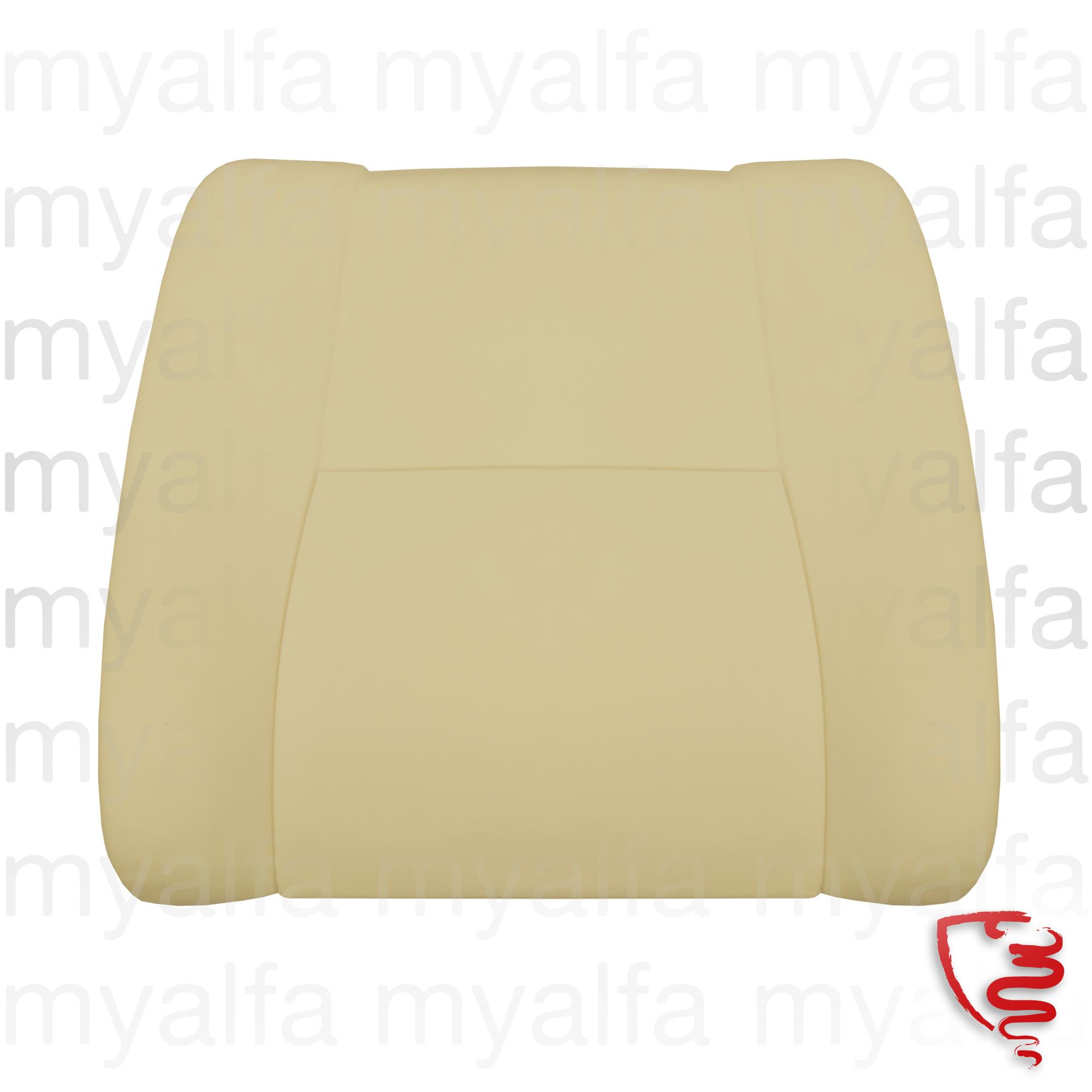 backrest foam for seat Bertone for 105/115, Coupe, 1750, 2000, Interior, Seats, Seat foams