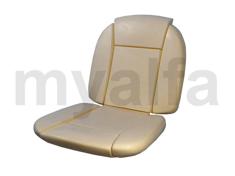 Foams banks Giulia Spider 2 pcs for 750/101, Spider, Interior, Seats, Seat foams