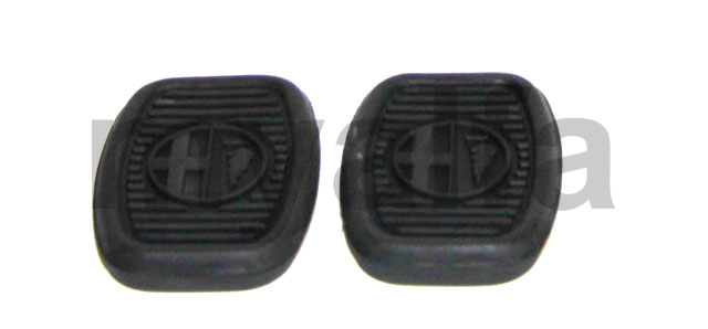 Set pedal rubbers Embrai / brake w / 750/101 for 750/101, Pedals