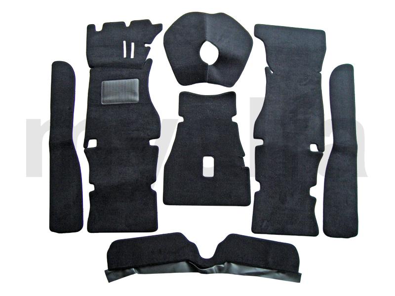 carpet set p / GT Bertone floor pedals for 105/115, Coupe, Interior, Flooring, Carpet sets
