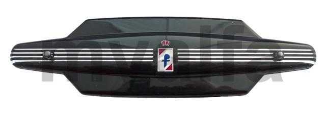radio coverage spider 101 'Pininfarina' black for 750/101, Spider, Interior, Dashboard, Instruments