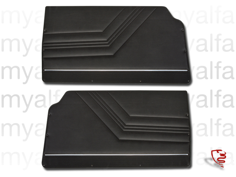 Game pasterns front GT Bertone 2000 black for 105/115, Coupe, 2000, Interior, Doors, Panels and Covers
