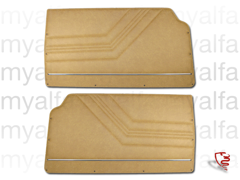Game front pasterns GTV 2000 - beige Skay 575 for 105/115, Coupe, 2000, Interior, Doors, Panels and Covers