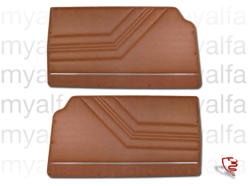 Game pasterns front GT Bertone 2000 Brown '574' for 105/115, Coupe, 2000, Interior, Doors, Panels and Covers