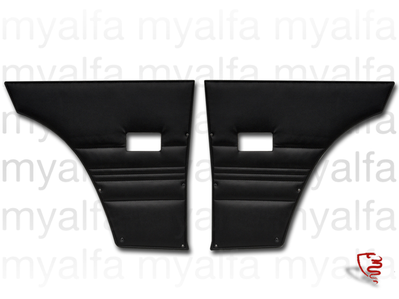 Game pasterns back Bertone GT 2000 black for 105/115, Coupe, 2000, Interior, Doors, Panels and Covers