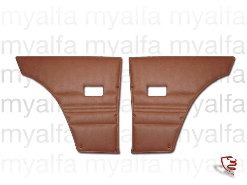 Game pasterns back GT Bertone 2000 Brown '574' for 105/115, Coupe, 2000, Interior, Doors, Panels and Covers