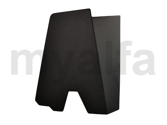 Pastern inteior pillar Spider - Black Esqº for 105/115, Spider, Interior, Headliner/sun visor/hat rest