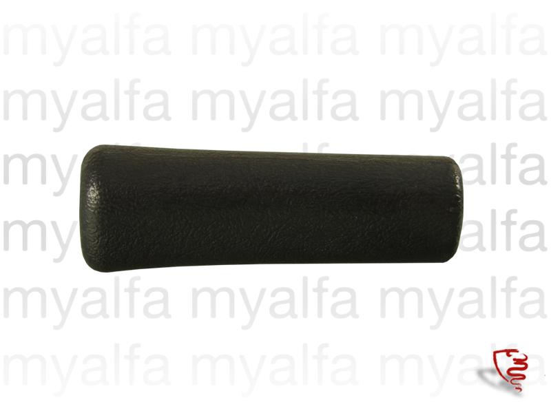 Handle brake-to-hand Black Spider 86/93 for 105/115, Spider, Interior, Centre console, Trim / knobs / comands