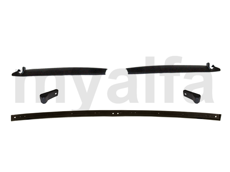 Set of inner frame Spider 1966-69 for 105/115, Spider, Interior, Headliner/sun visor/hat rest