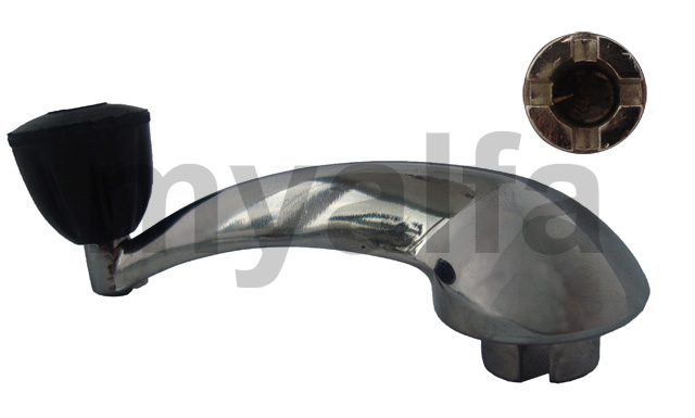 Glass lift lever (750/101) for 750/101, Body parts, Chrome Parts, Door
